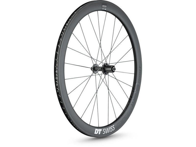 DT Swiss ARC 1100 DICUT wheel, carbon clincher 48 x 17mm rim, rear click to zoom image