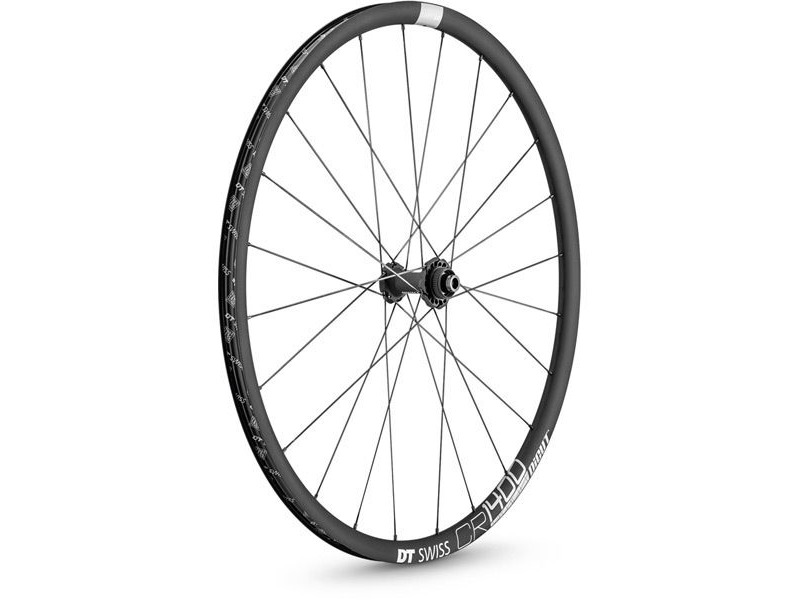 DT Swiss CR 1400 DICUT disc brake wheel, clincher 25 x 22 mm, front click to zoom image